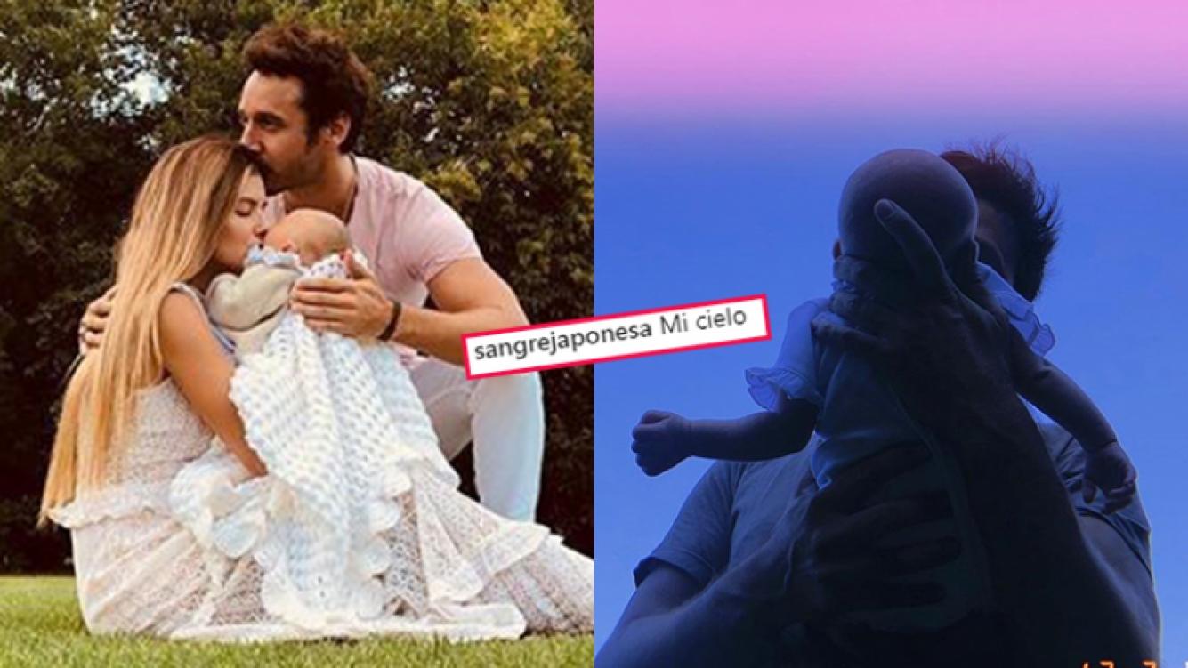 China Suárez comparte tiernas fotos de Benjamín Vicuña y su hija Magnolia