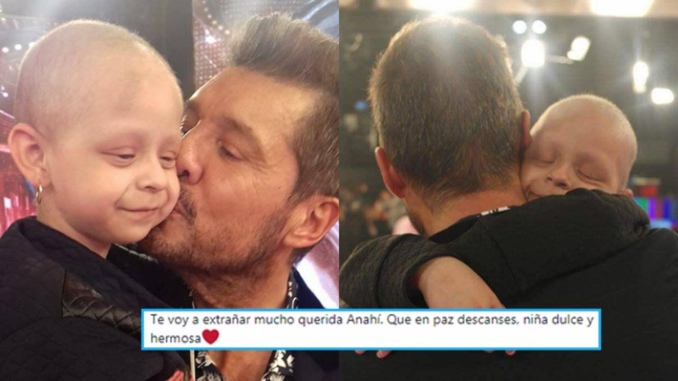 La tristeza de Marcelo Tinelli por la pequeña Anahí.