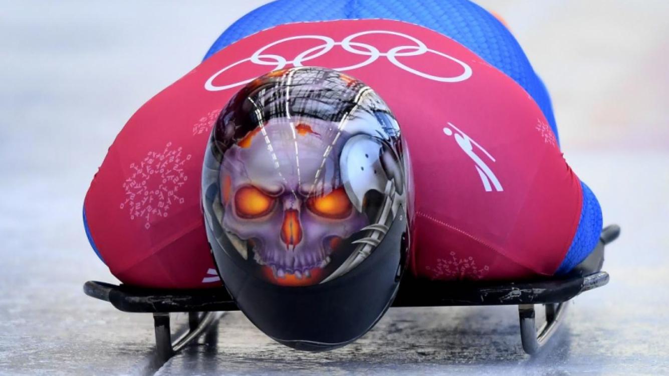 Juegos Olímpicos de Invierno: mirá los cascos de skeleton más espectaculares