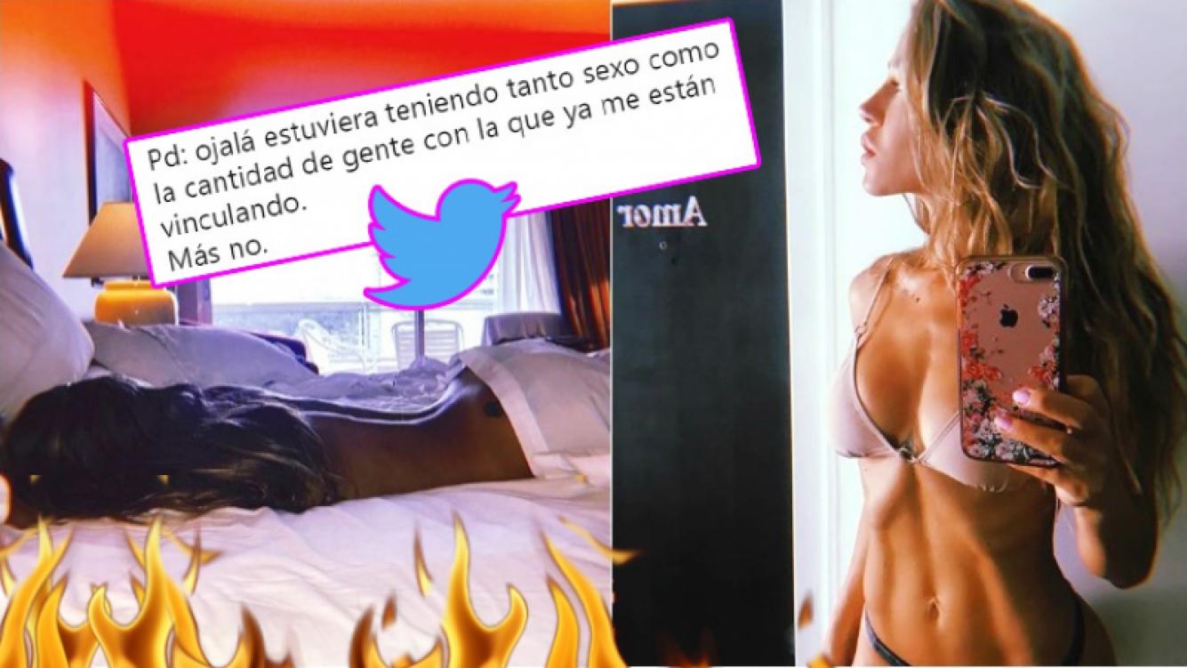 La foto ultra sexy de Jimena Barón en Punta y su picante aclaración sobre los hombres con los que la vinculan (Fotos: Instagram)