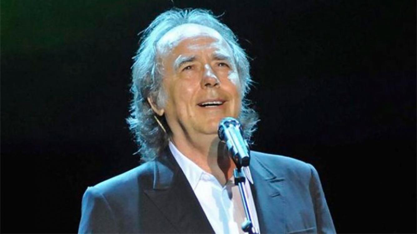 Serrat repasó su carrera en un concierto sinfónico en Buenos Aires