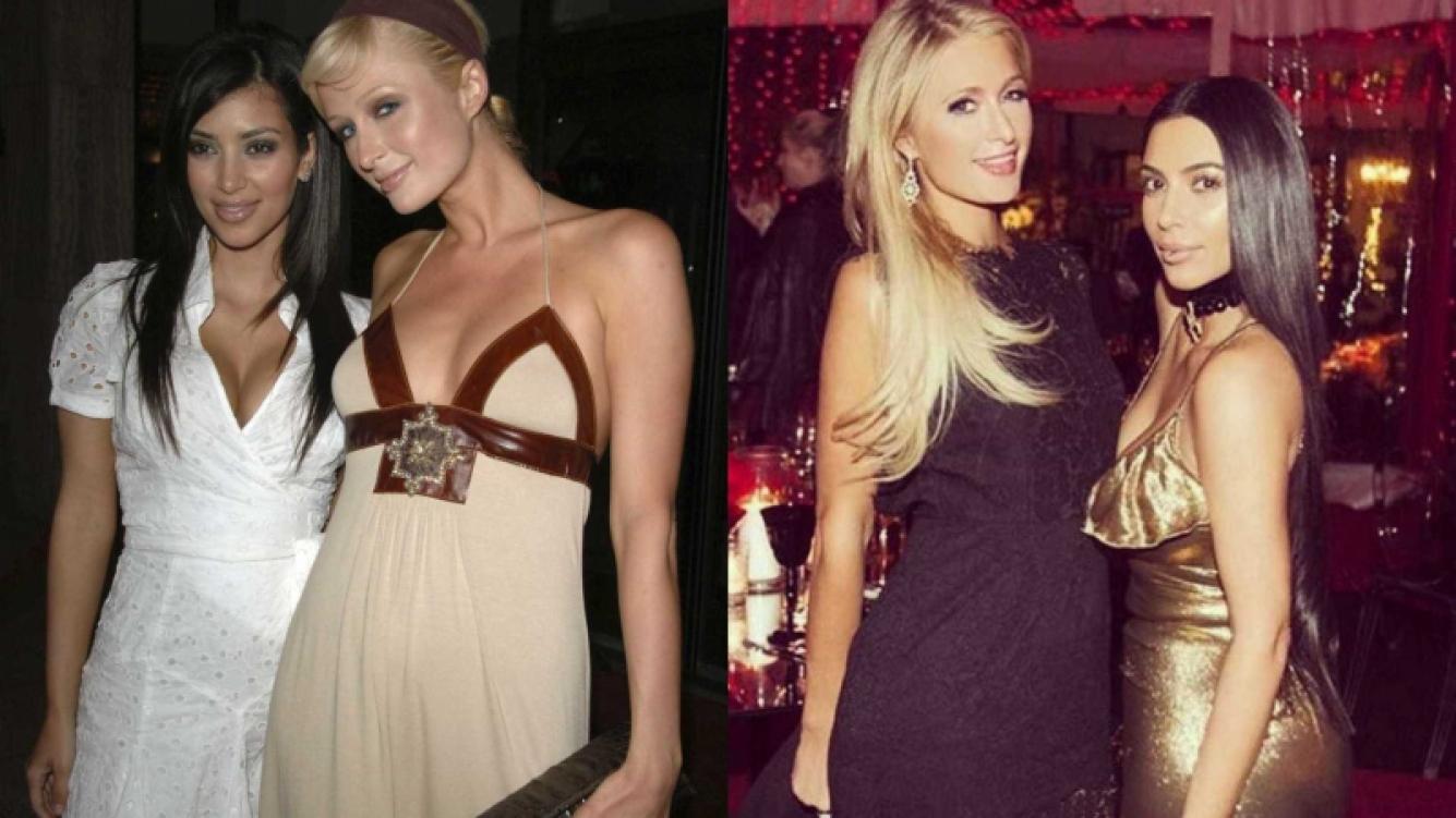 """Kim Kardashian y Paris Hilton: Una """"amistad"""" difícil de predecir"""