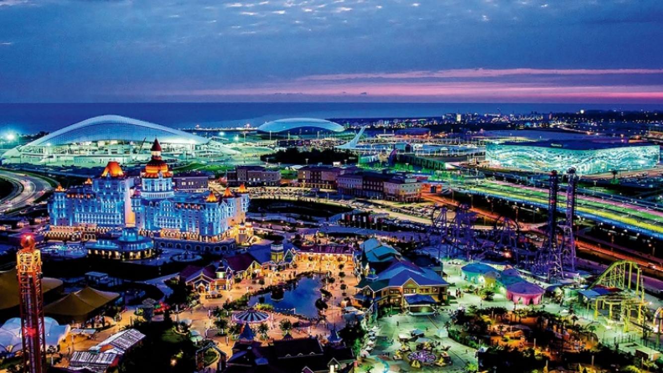Sochi: la ciudad que albergará a las selecciones de Brasil y Polonia