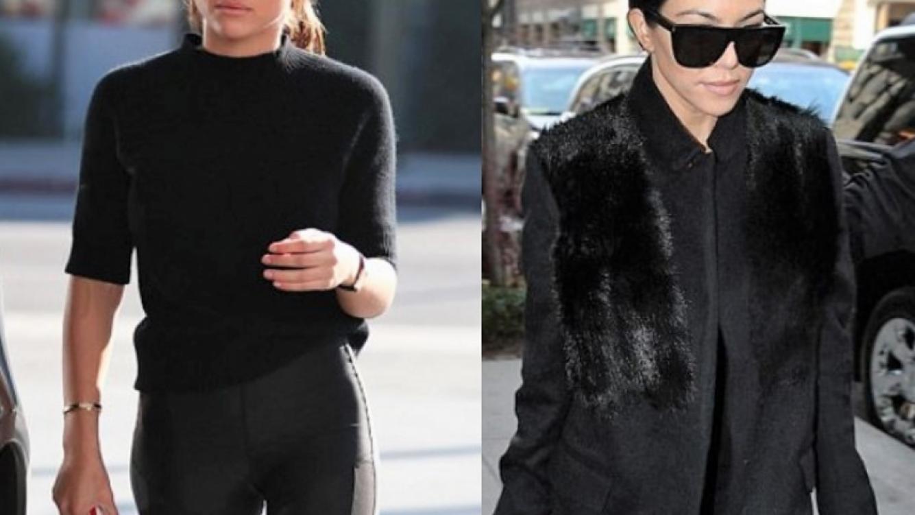 La novia de Scott Disick tiene un look similar al de Kourtney Kardashian ¿La imita?