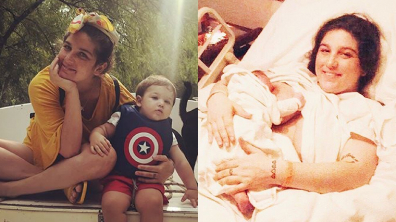 Juana Repetto habló de la maternidad y del amor en Instagram.