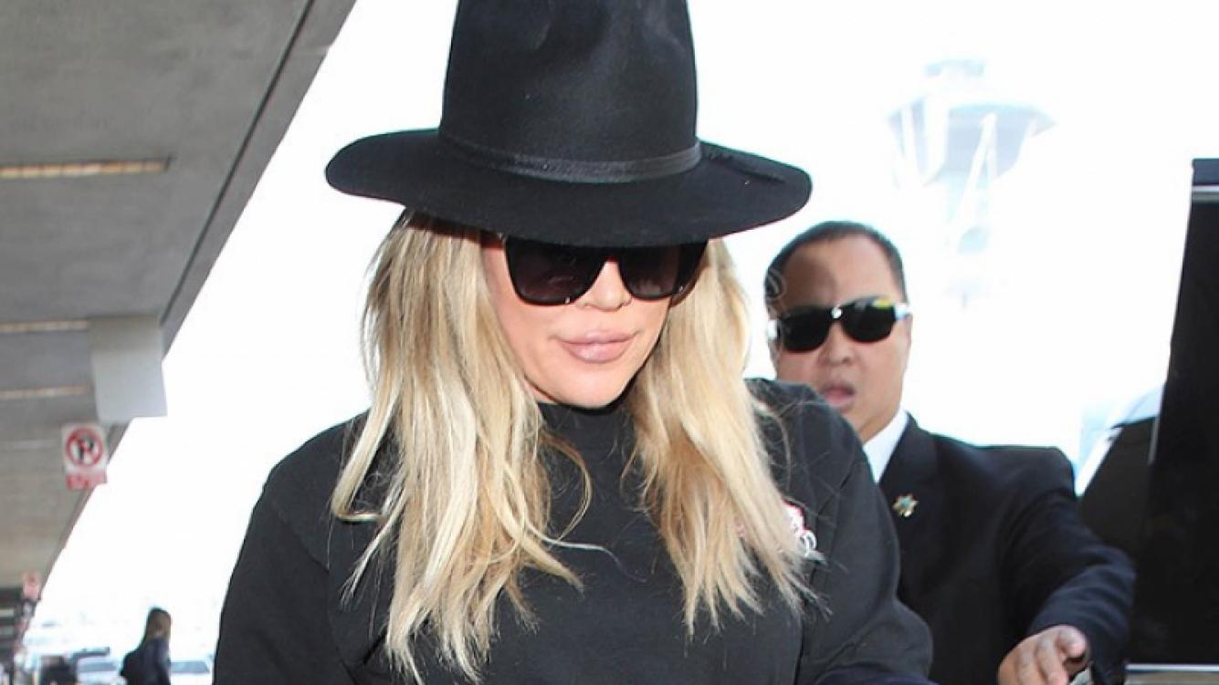 Khloé Kardashian se niega a usar ropa holgada durante su embarazo