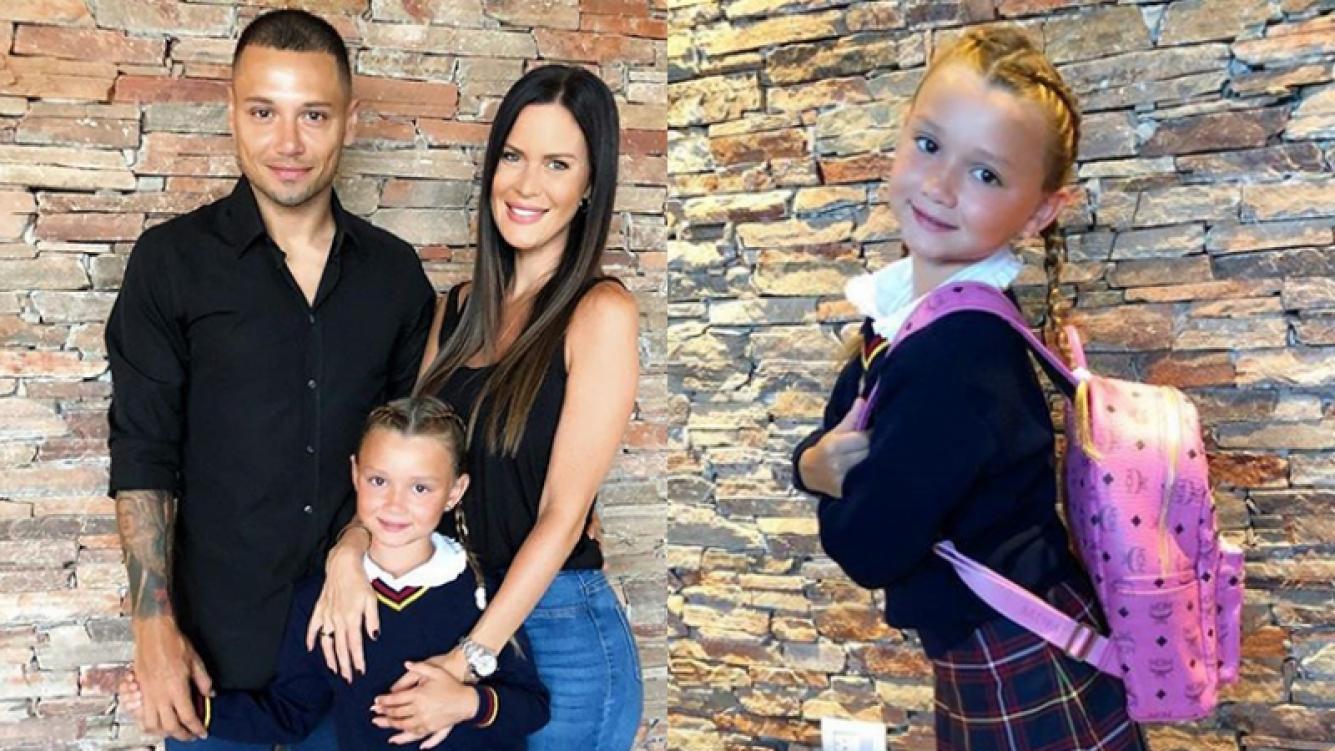 Natalie Weber, feliz por el primer día de clases de su hija en Argentina: Fue muy emocionante