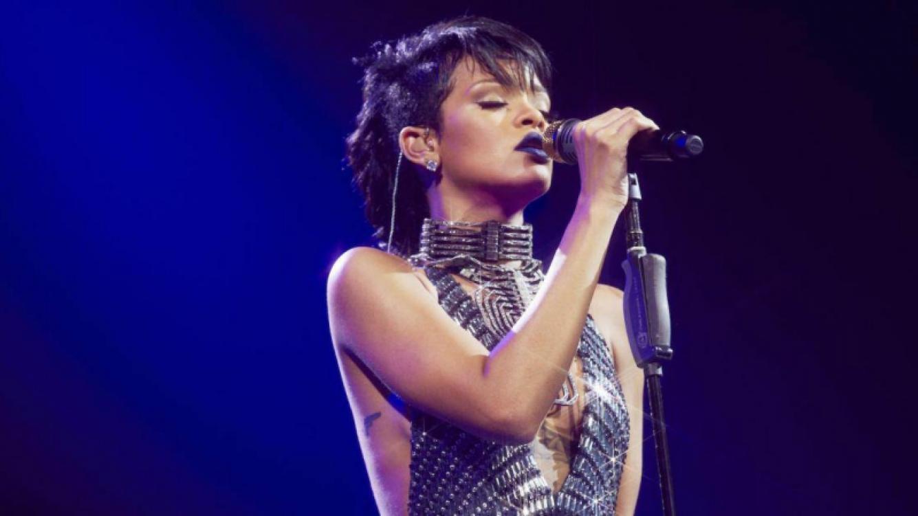 Rihanna: mirá cómo calma sus nervios antes de cada concierto