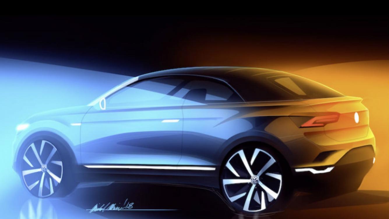 Volkswagen T-Roc Cabriolet saldrá en el 2020