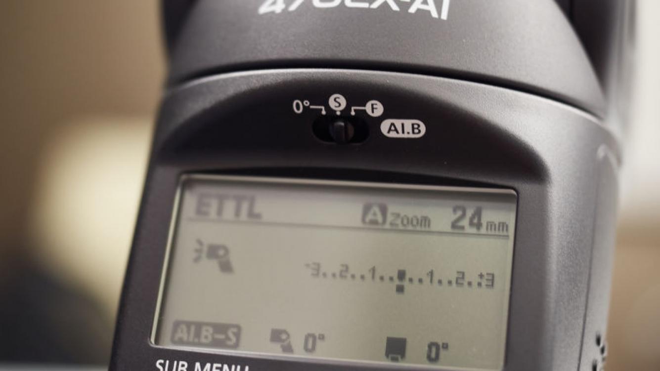 La nueva Flash 470EX-AI de Canon será a prueba de inexpertos
