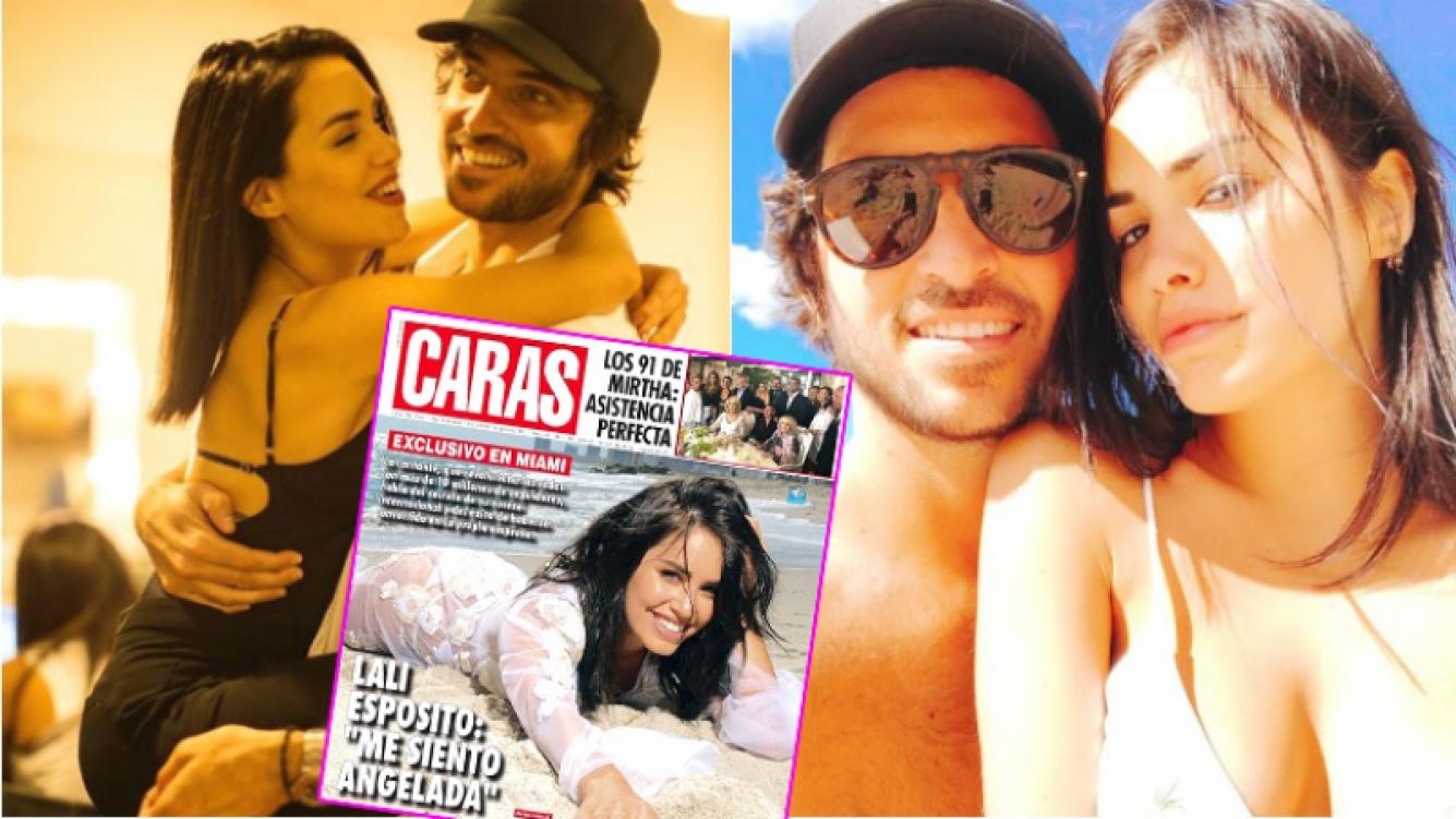 Lali Espósito habló de su noviazgo con Santiago Mocorrea (Fotos: Instagram)