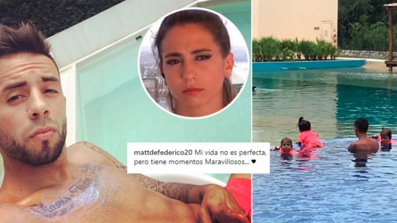 El nostálgico mensaje de Matías Defederico: Mi vida no es perfecta, pero tiene momentos maravillosos