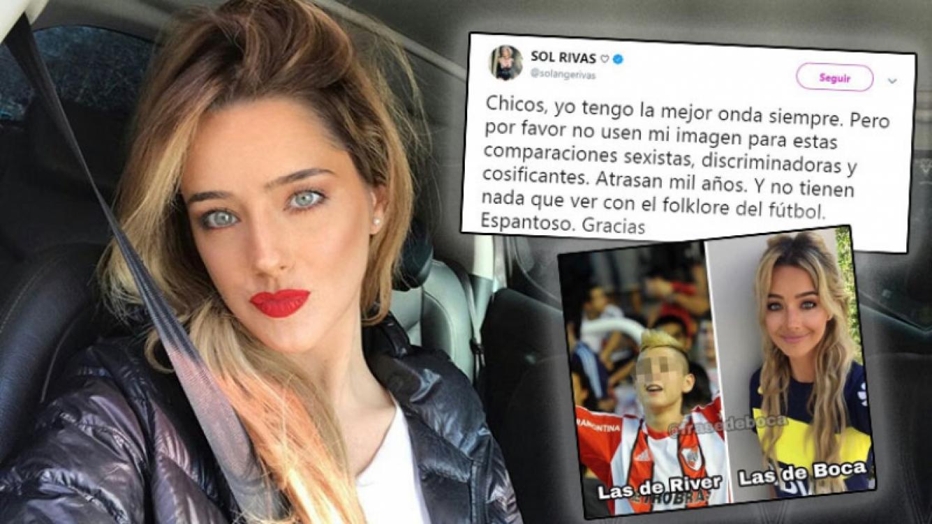 La furia de Sol Rivas ante una desagradable comparación sexista con otra mujer: Es discriminador y espantoso