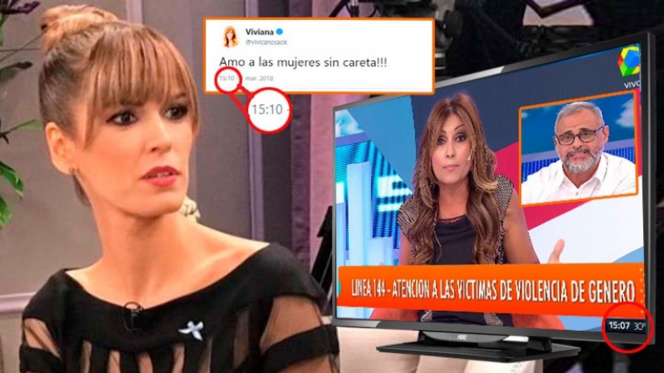 Viviana Canosa y un sugerente tweet, en medio del momento de tensión de Tauro y Rial