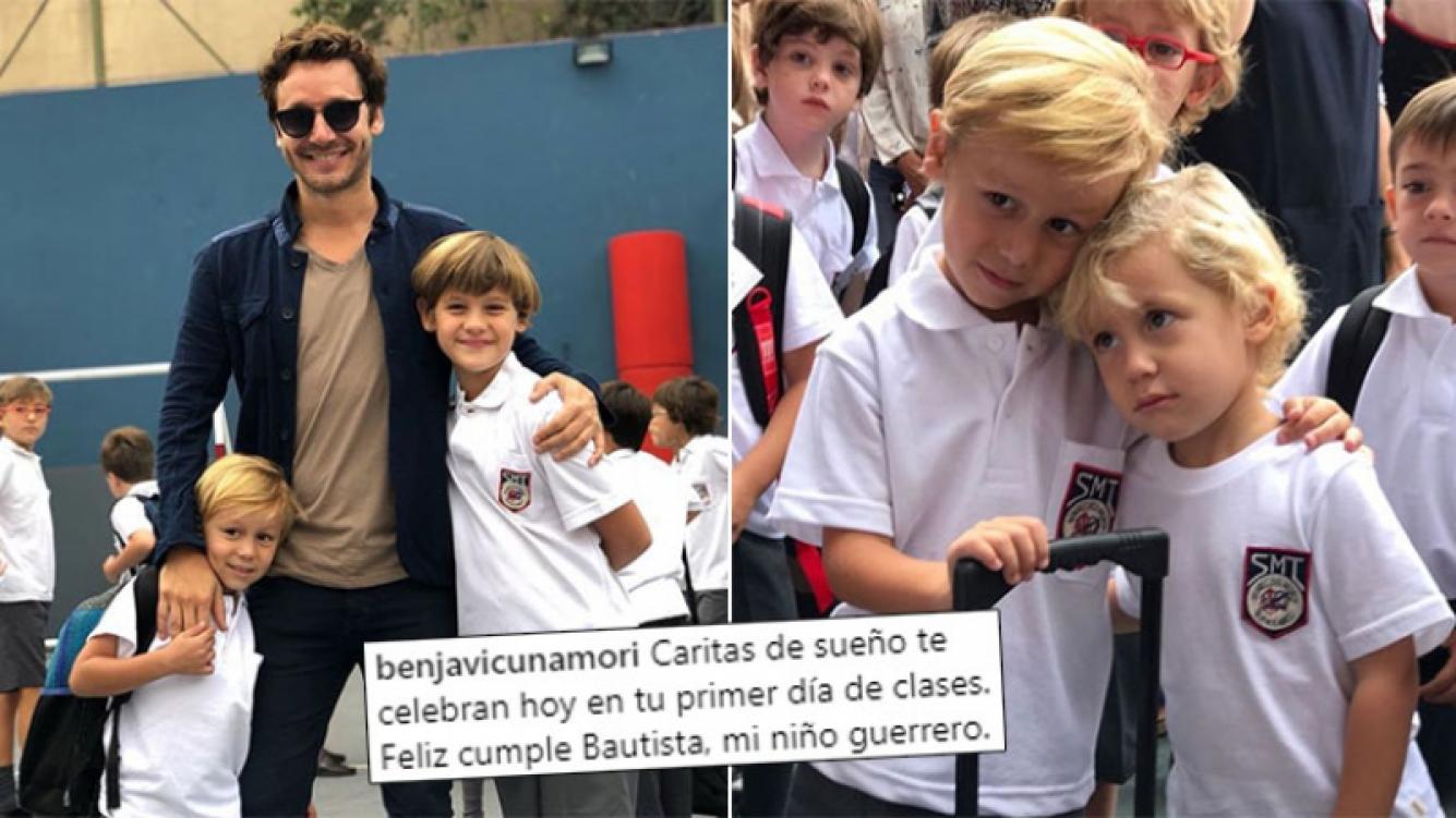 Pampita dedicó un tierno mensaje para Bauti, su hijo mayor