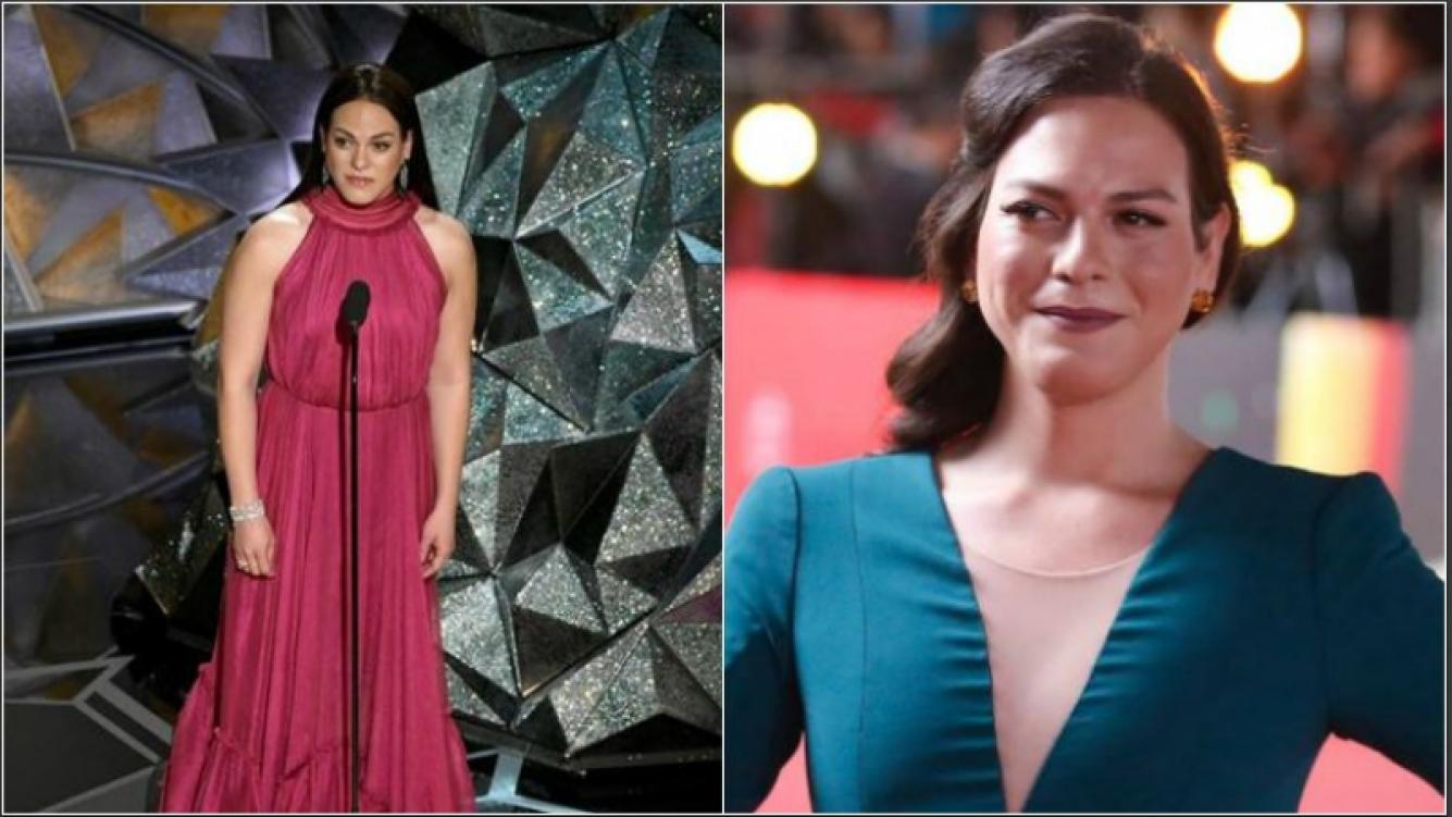 <p>Daniela Vega, la protagonista de Una mujer fant&aacute;stica, el film chileno ganador del Oscar: Se lo dedico a todas las...</p>