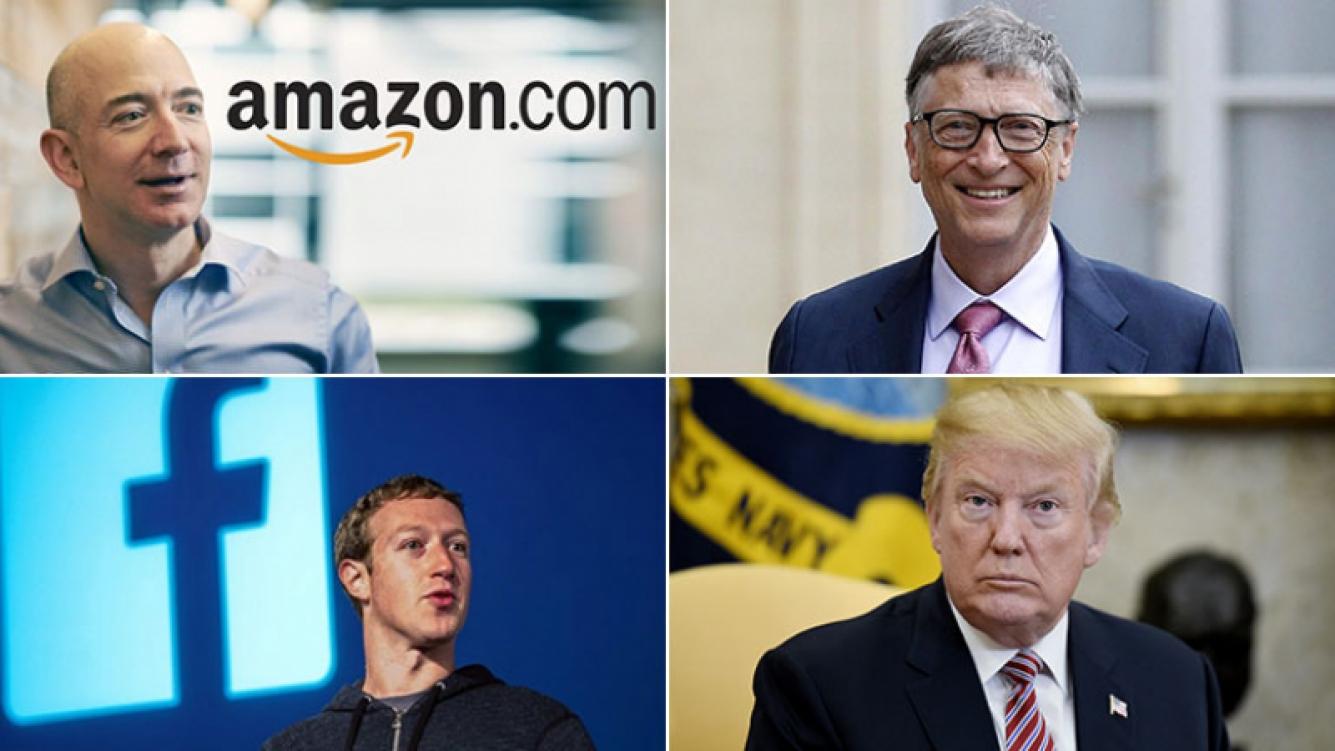 Forbes publicó la lista de las 10 personas más ricas del mundo