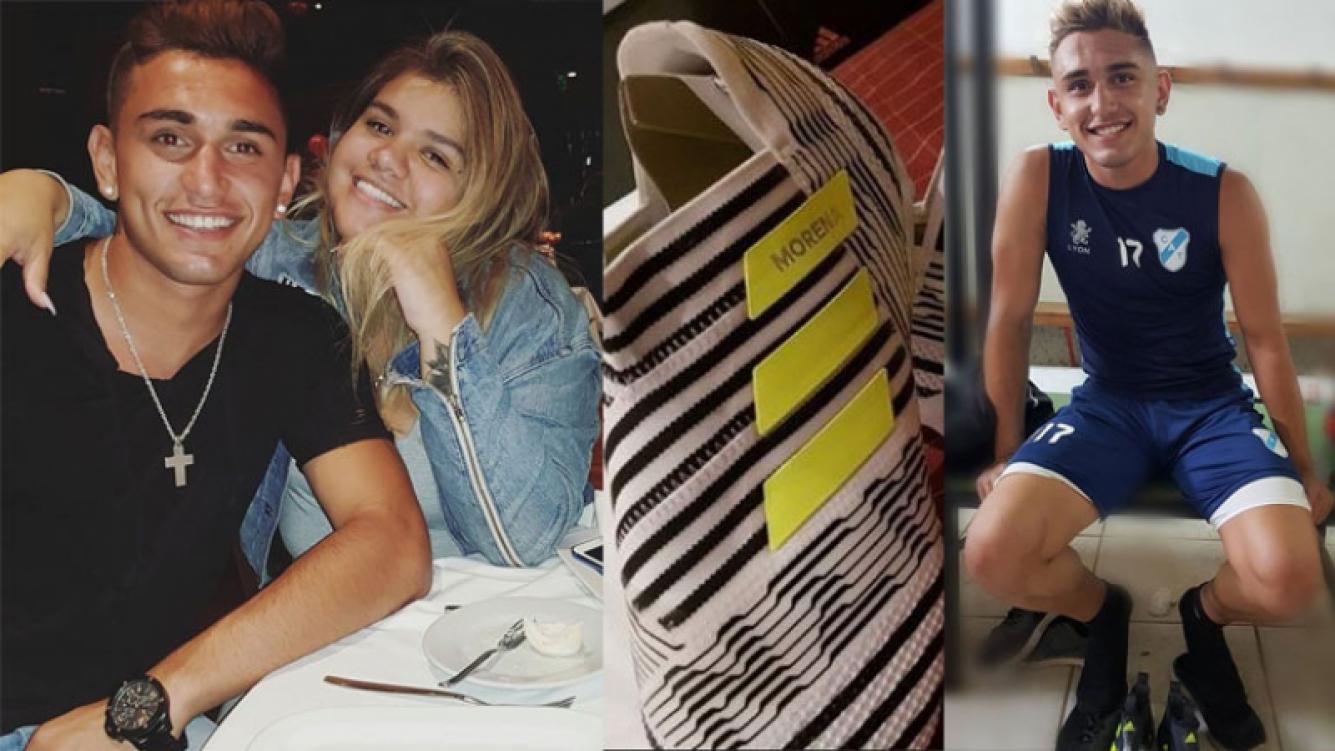 Facundo Ambrosioni y su gesto de amor para Morena Rial. Foto: Instagram.