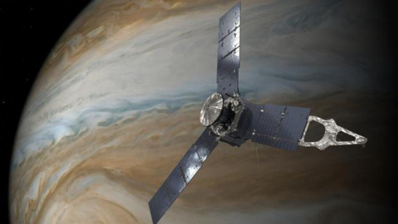 Alarma en la NASA por fuertes ciclones registrados en el planeta Júpiter