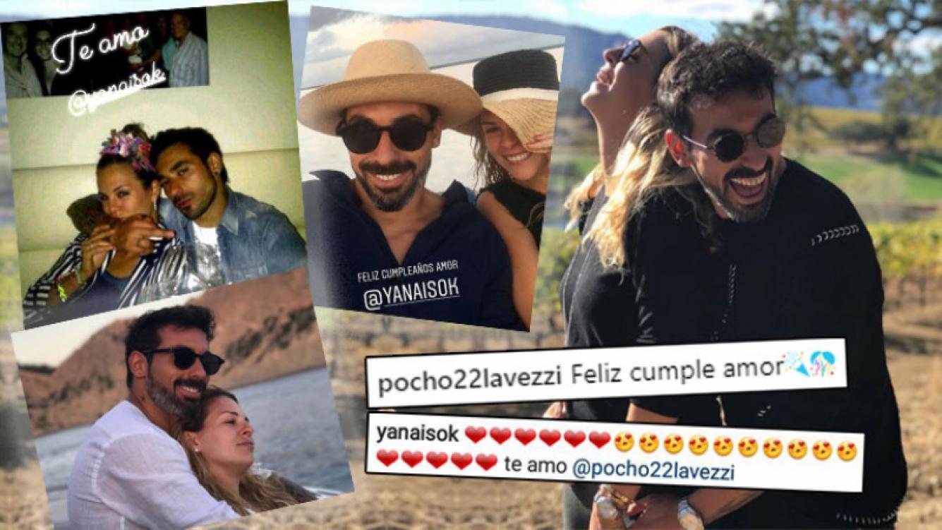 Tierno saludo de cumpleaños del Pocho Lavezzi a Yanina Screpante: Jamás dejes de sonreír. Te amo, atorranta