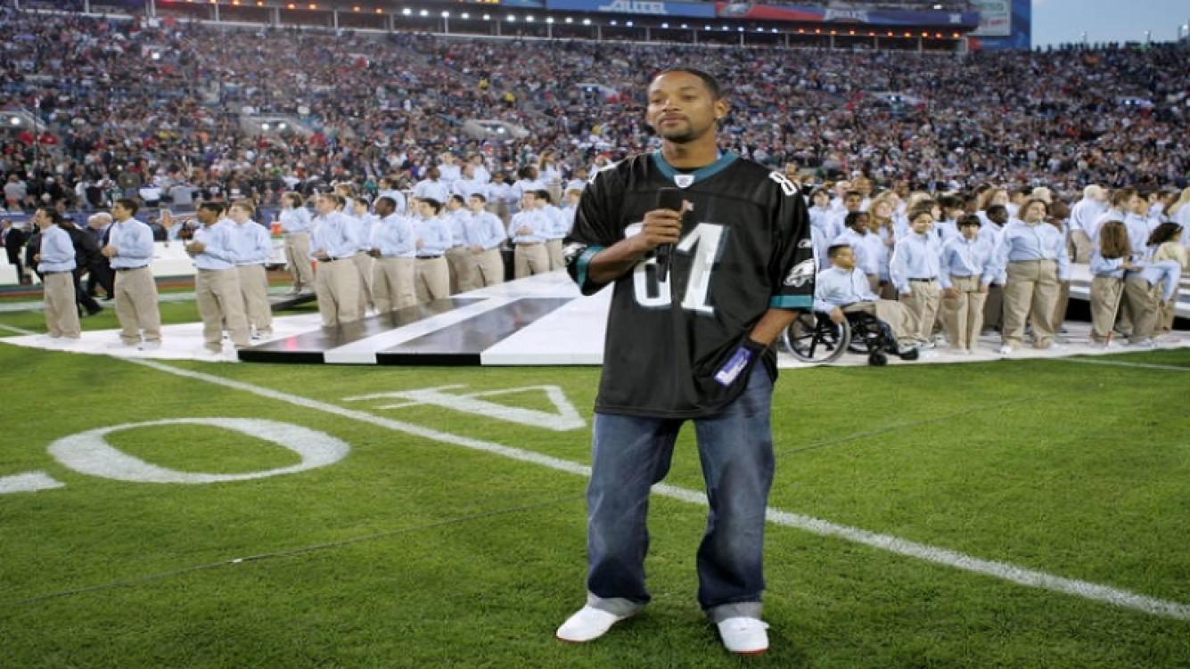 Los famosos de Hollywood y su amor por el deporte: Will Smith es hincha de los Philadelphia Eagles