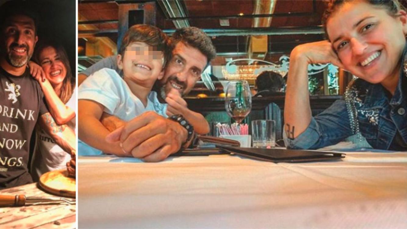 ¡Ex con buena onda! El fin de semana en familia de Maju Lozano y Julián Varde con su hijo, Joaquín