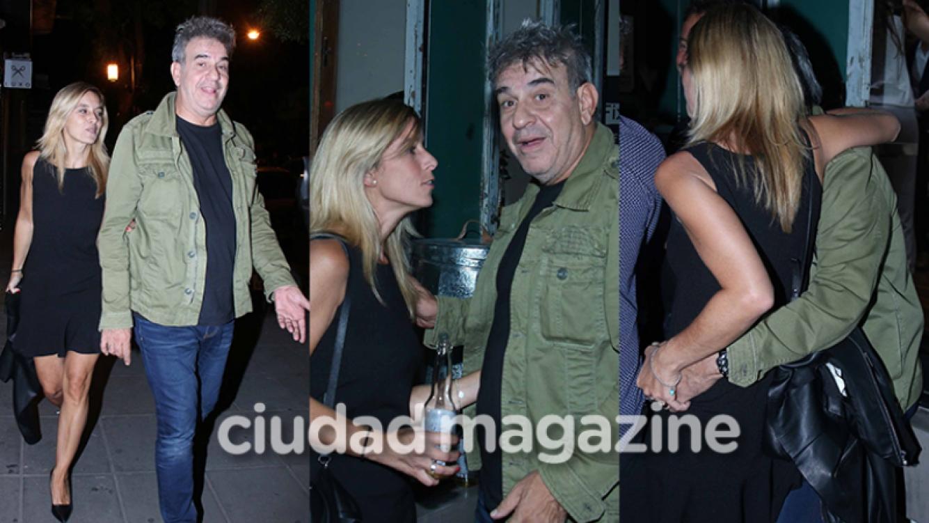 Miguel Ángel Rodríguez y su nueva novia, Marcela (Fotos: Movilpress).