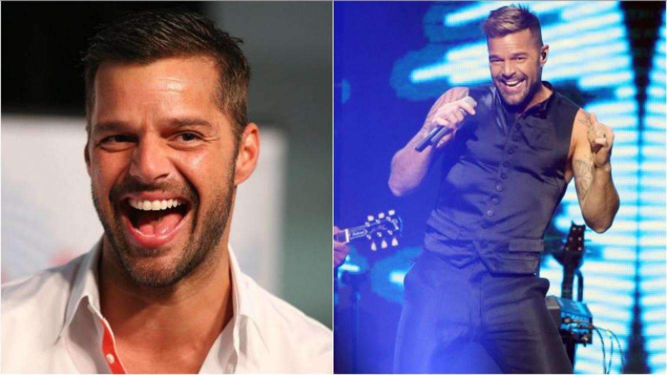 Ricky Martin y su foto hot en un show de Las Vegas que volvió locos a sus fans
