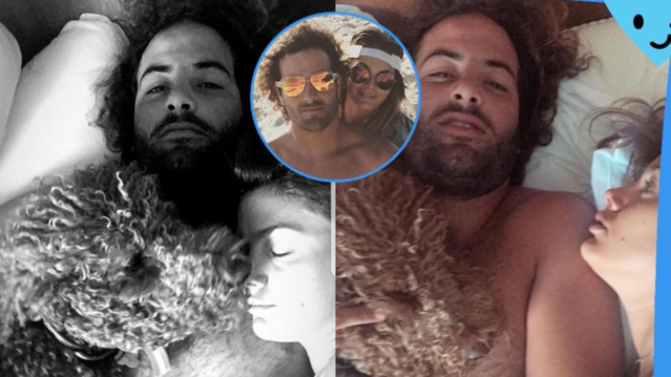 Natalie Pérez, súper enamorada de su novio en las redes sociales.