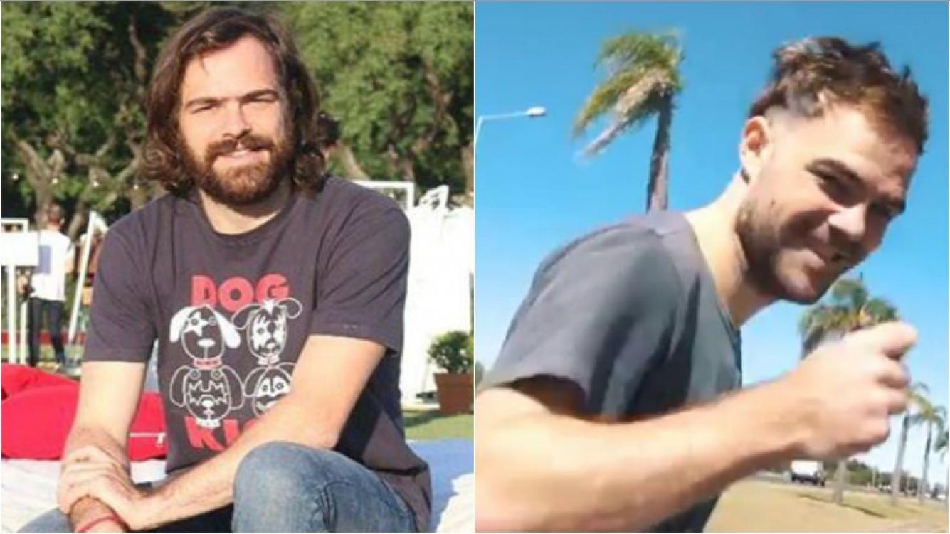 ¡Con mucha onda! El radical cambio de look de Peter Lanzani: rapado a los costados y con barba de pocos días