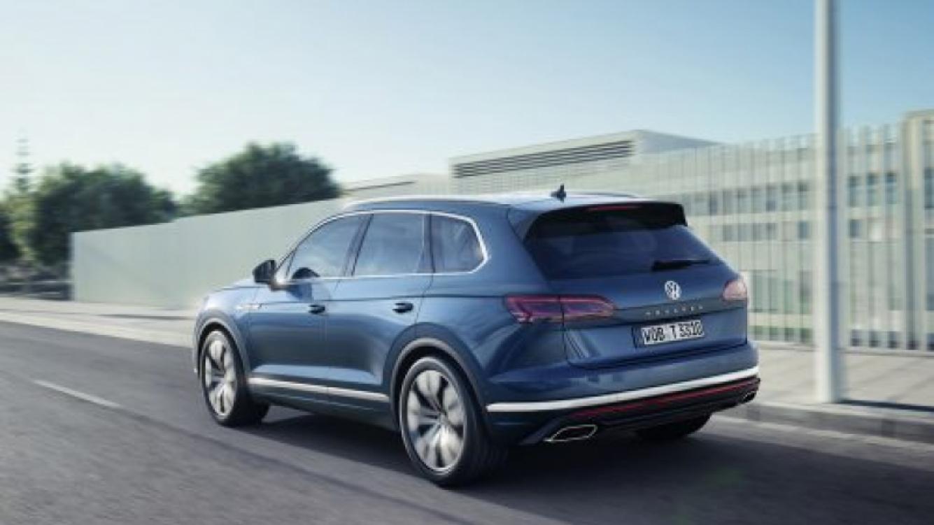 Volkswagen lanzó la nueva versión de su modelo Touareg