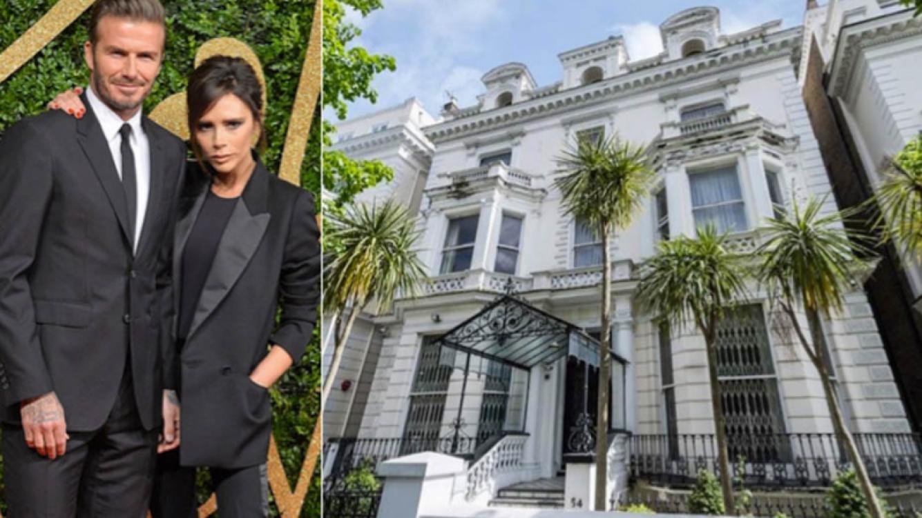 Cómo luce la elegante mansión londinense de Victoria Beckham