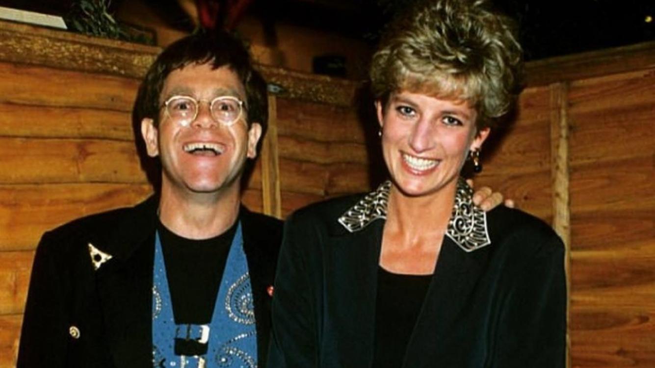 La gran amistad de Elton John y la Princesa Diana