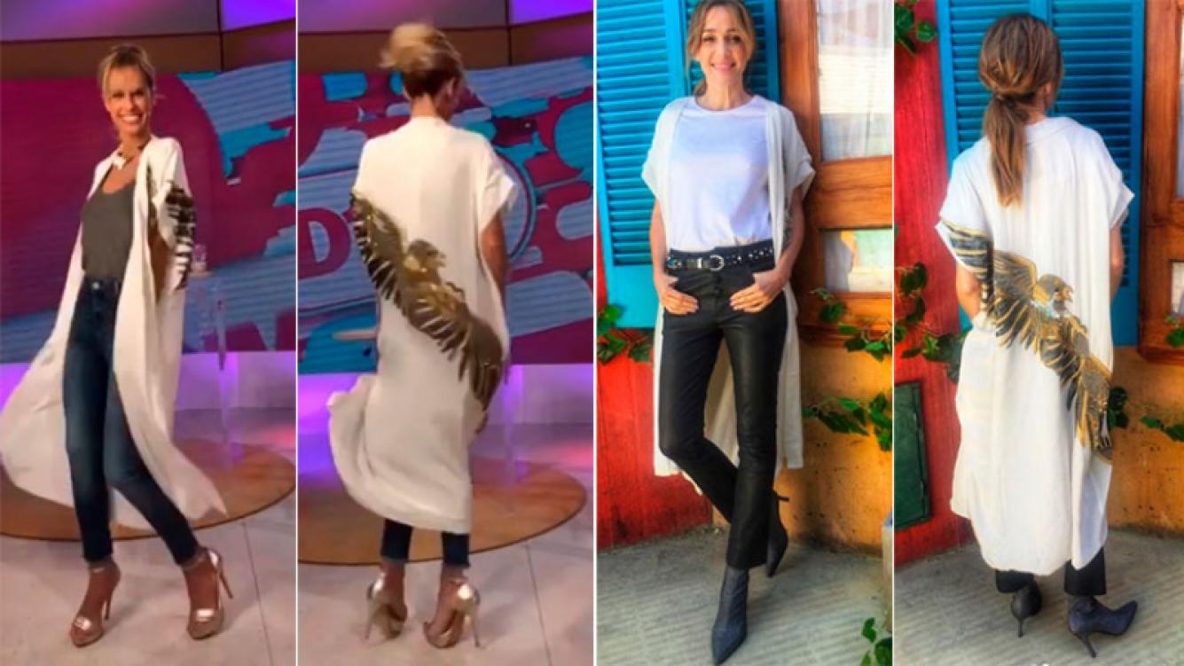 La coincidencia fashion de Mariana Fabbiani y Verónica Lozano