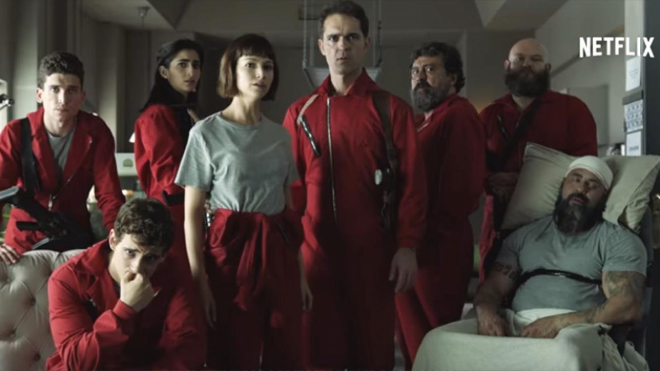 La Casa de Papel llega a su final y se conoció el tráiler de la segunda temporada.