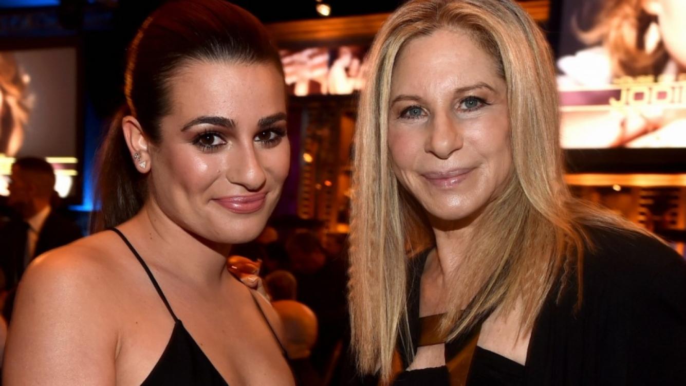 La gran inspiración de Lea Michele: Barbra Streisand