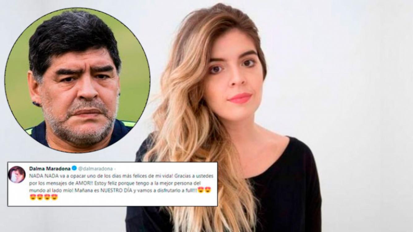 En Dubai dan como confirmado que Diego Maradona no estará en el casamiento de su hija