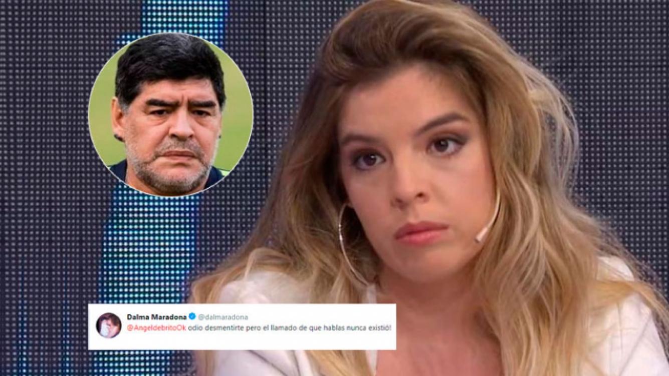 El tweet de Dalma Maradona tras la explosiva versión de un llamado de Diego por su casamiento