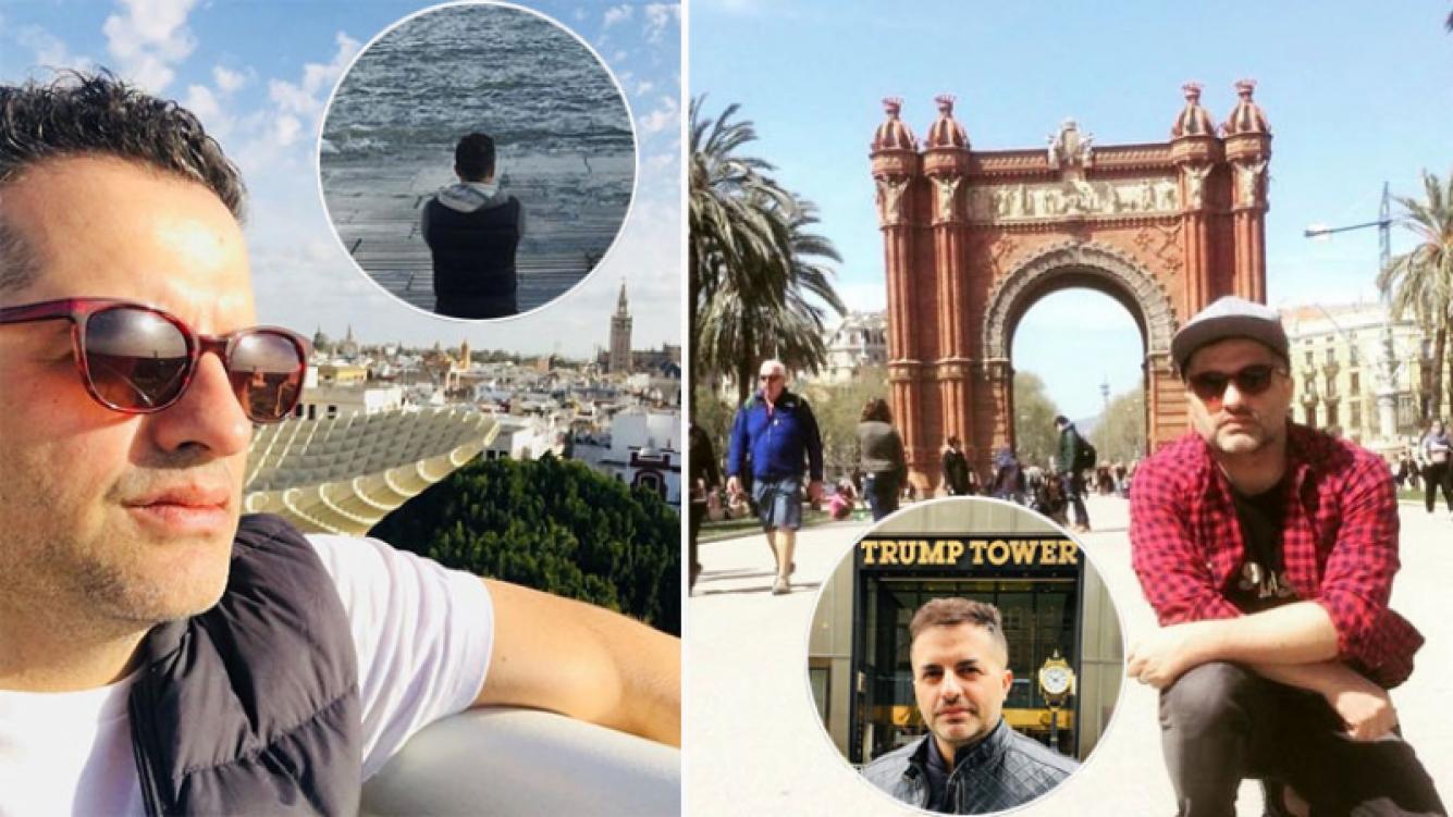 Ángel de Brito se tomó vacaciones y recorrió Europa y Estados Unidos. (Foto: Instagram)