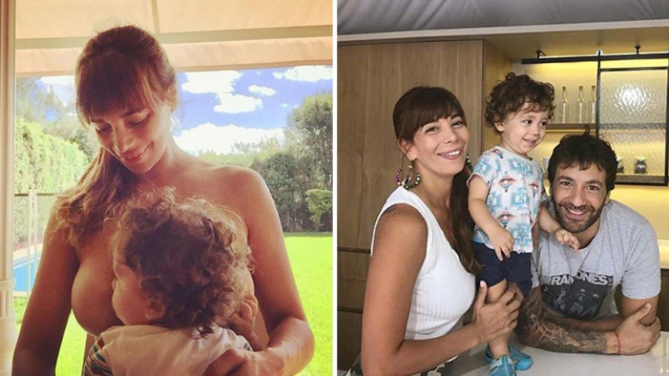 Ximena Capristo volvió a amamantar a Félix desnuda tras la polémica. (Foto: Instagram)
