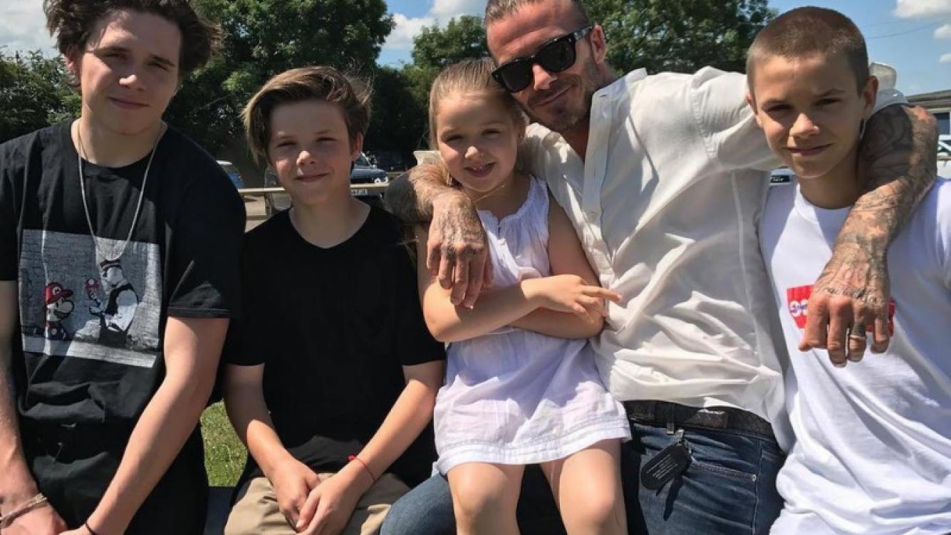 Inesperados talentos de los famosos hijos de David y Victoria Beckham