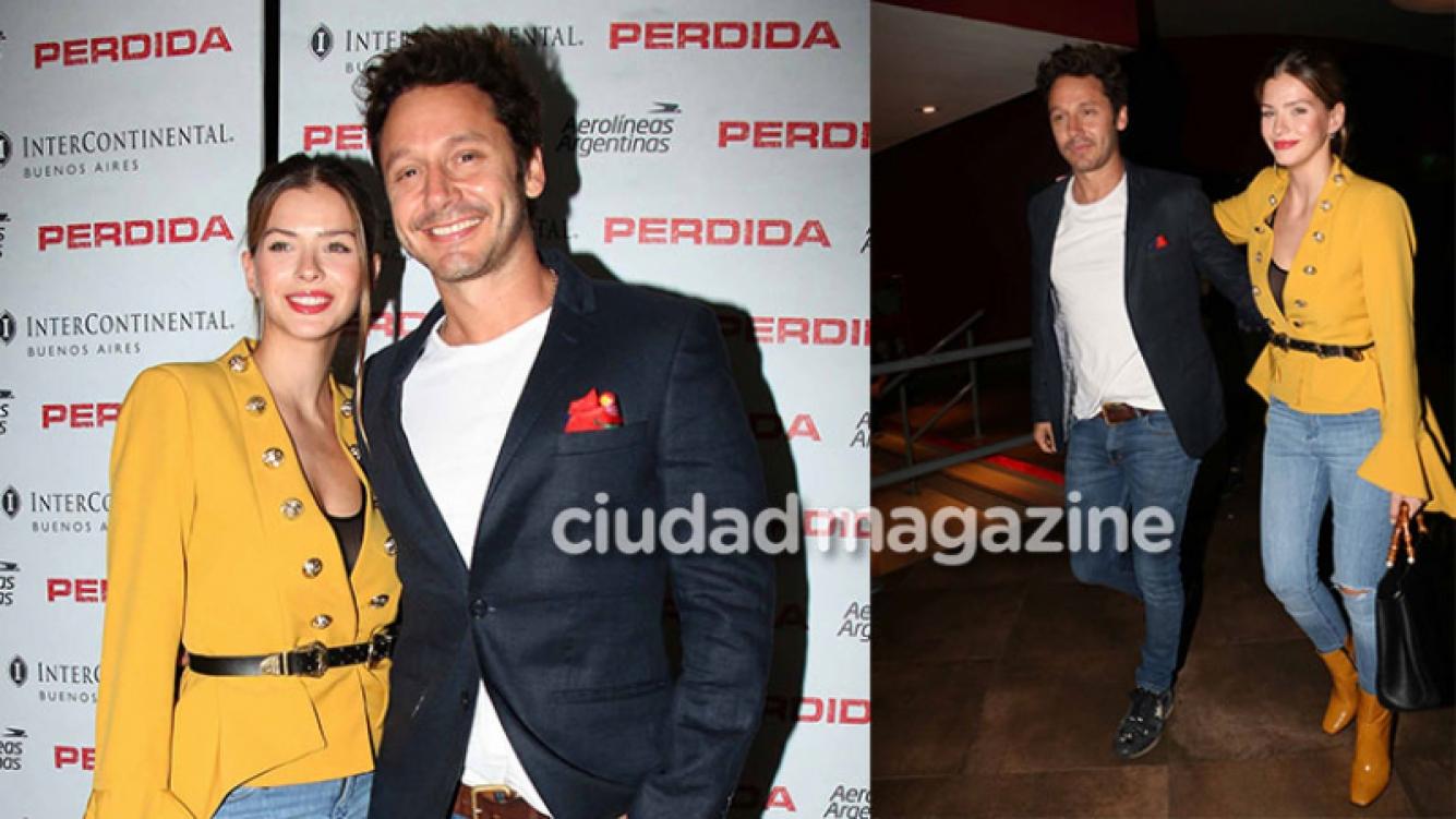 La China Suárez y Benjamín Vicuña tuvieron una salida de novios y fueron al cine. (Foto: Movilpress)