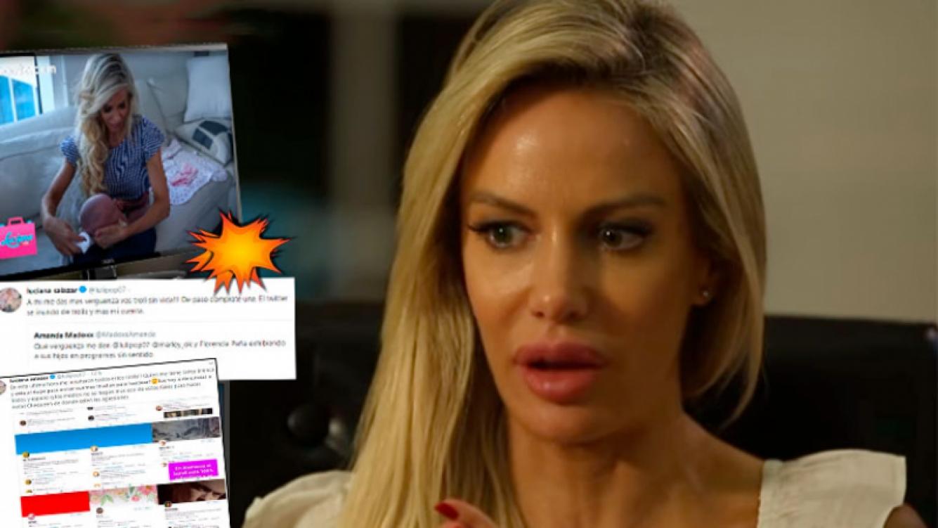 Luciana Salazar denunció ser atacada en las redes