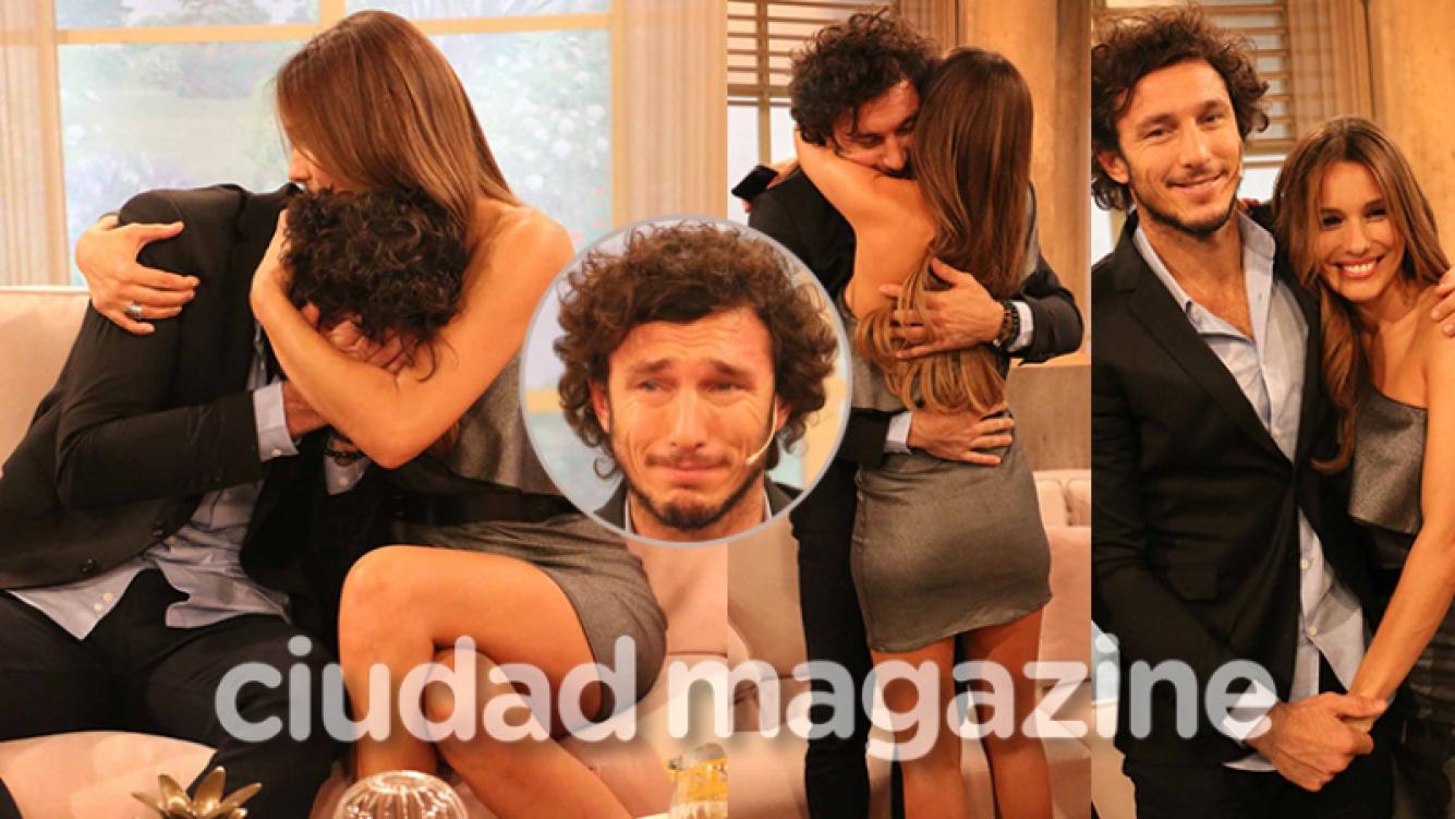 Pico Mónaco y Pampita, protagonistas de un momento súper emotivo (Fotos: Movilpress).