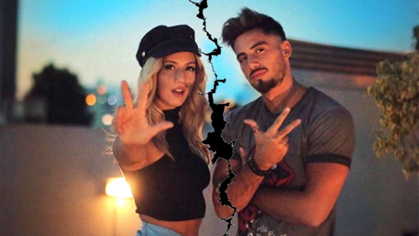 Flor Vigna y Nicolás Occhiato confirmaron que atraviesan una crisis de pareja