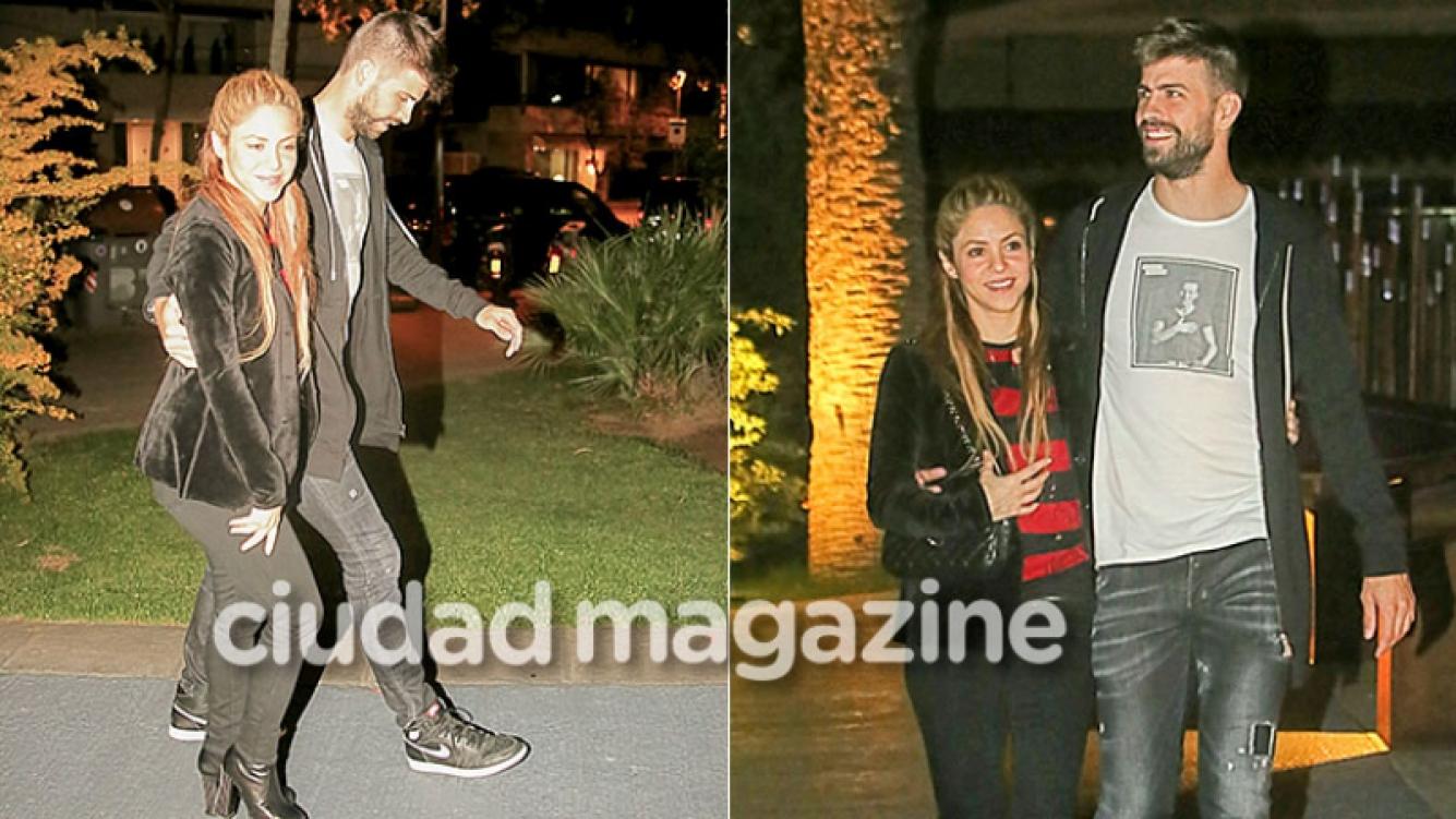 Shakira y Gerard Piqué, enamorados por las calles de Barcelona  (Grosby Group)