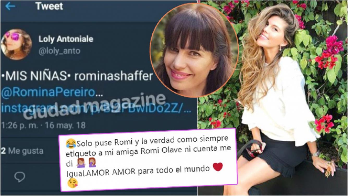 El mensaje de Loly Antoniale tras arrobar a la novia de Jorge Rial