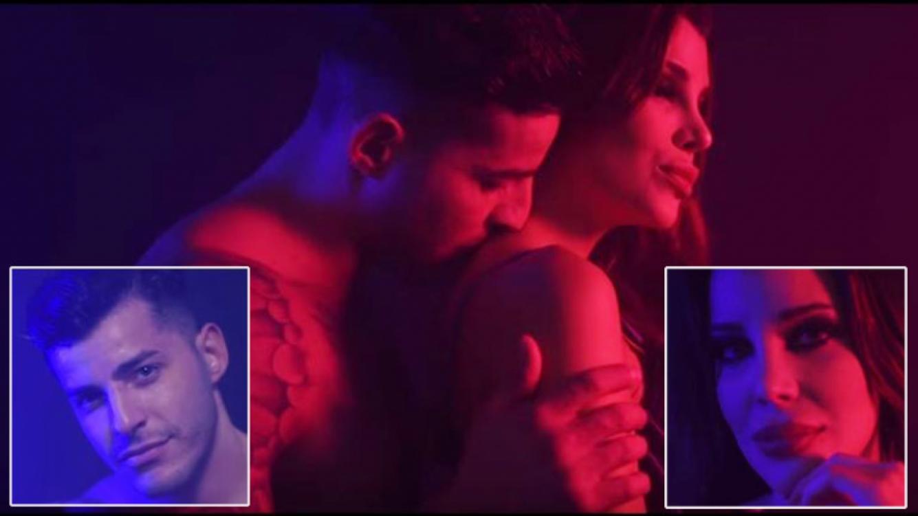 Lhoan y Charlotte Caniggia protagonizaron el fogoso videoclip del tema Te Quiero Igual