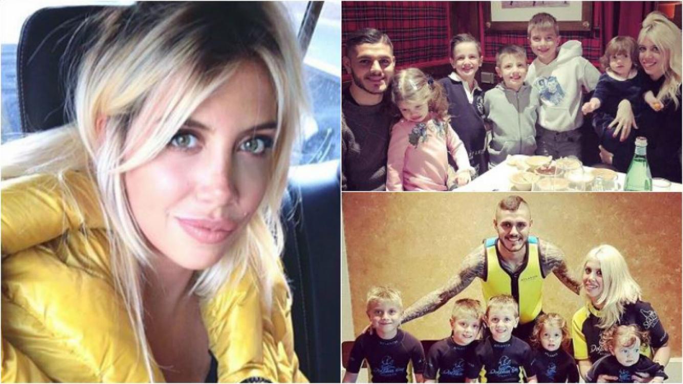 El motivo por el que Wanda Nara no quiere tener su sexto hijo: Mauro no quiere, pero yo sí