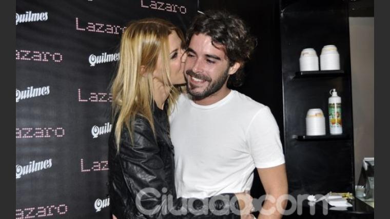 Tabal y Cabré, enamoradísimos. (Foto: Jénnifer Rubio)